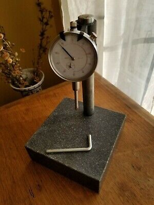 "DIAL INDICATOR .001"" x 1"" WITH GRANITE BASE STAND"