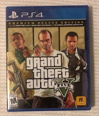 GRAND THEFT AUTO V 5 Five (PlayStation 3) BRAND NEW & SEALED