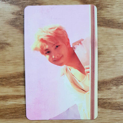 RM Official Photocard BTS Love Yourself Answer E Version Genuine Kpop