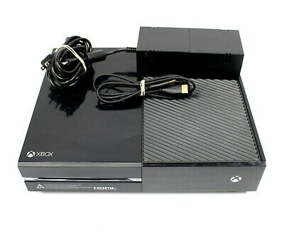 NO CONTROLLER INCLUDED ! Microsoft XBOX ONE 500GB Black Gaming Console