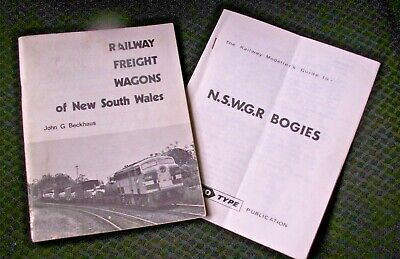 NSW Freight Wagon Booklet - great modeller's reference PLUS bonus Bogie Book