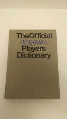 The Official Scrabble Players Dictionary Hard Cover 1978 G & C Merriam Company