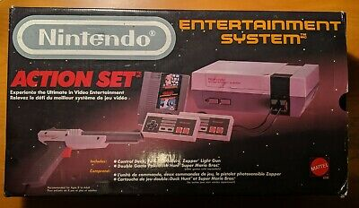 Nintendo Entertainment System NES Action Set Console - Complete and Tested