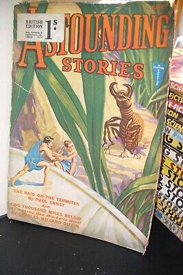 Astounding Stories Uk Pulp Magazine June 1932