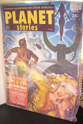 Planet Stories Us Pulp Magazine July & Nov 1951 [ 2 Issues ]
