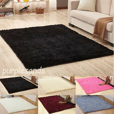 Shaggy Rugs Floor Carpet Living Room Bedroom Rugs Soft Large Area Rug Home Decor