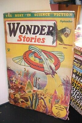 Wonder Stories Us Pulp Magazine September 1934