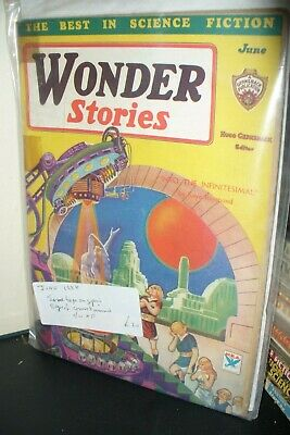 Wonder Stories June 1934 [1 Issues]