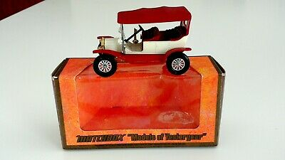 Models of Yesteryear 1911 Model T Ford #Y-1 1973 England