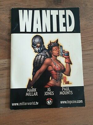 Wanted Comic Book. Mark millar limited series.