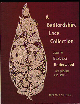 A BEDFORDSHIRE LACE COLLECTION  BOBBIN LACE BOOK damageD