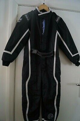 Kids Sparco K30 Rookie K3 karting racing suit age up to 11 - 140cm