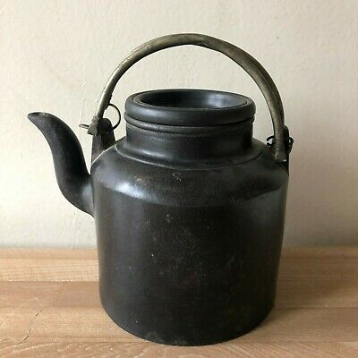 Antique Chinese Yixing Large Teapot Design Signed