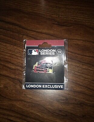 2019 MLB London Series Collectible Pin Yankees Red Sox Exclusive NEW SEALES