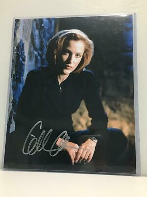 Gillian Anderson 8x10 signed photo autographed Picture + COA
