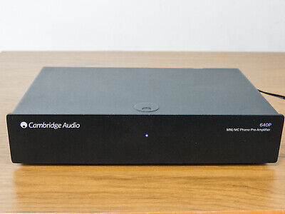 Cambridge Audio 640P Phono Stage Pre Amp for Turntable with power supply