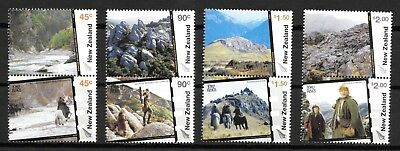 New Zealand 2004 Lord of the Rings (4th. Issue) Set of 8 SG2714/21 MNH