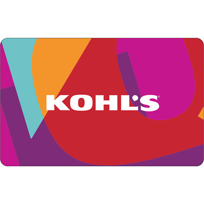 $100 KOHL'S  Physical gift Card