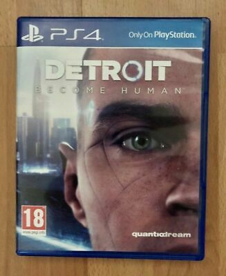Excellent Condition ( Detroit Become Human )  Ps4  Game