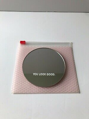 Glossier Pocket Mirror with Carry Pouch
