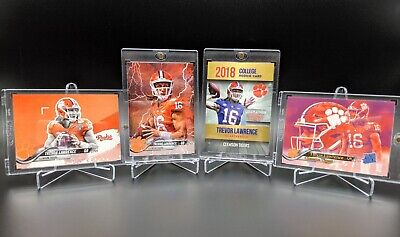 Lot Of 4 Trevor Lawrence Rookie Cards ~ Clemson Tigers 2019 Champions