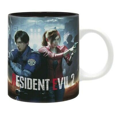 RESIDENT EVIL - Taza - 320 ml - RE 2 Remastered - subli - With box