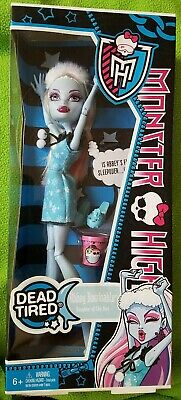 2012 Monster High DEAD TIRED ABBEY BOMINABLE Doll - NEW & SEALED!