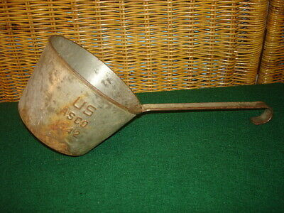 Wwii Us Mess Hall / Field Kitchen Ladle [Dipper], 1942 Dated