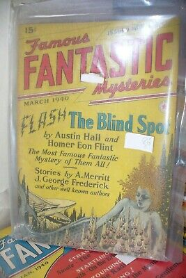 Famous Fantastic Mysteries March 1940 Us Pulp