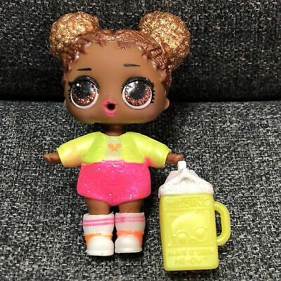 Lol surprise doll COURT CHAMP Glam Glitter SERIES 2 with yellow outfit toy