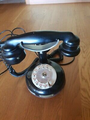 Ancien Telephone Antique Vintage Old Phone Deco Alte Telefon 1924