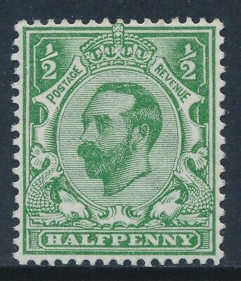GB 1911 SG322 GREEN ½d MINT (MNH) Die 1A our ref GN2