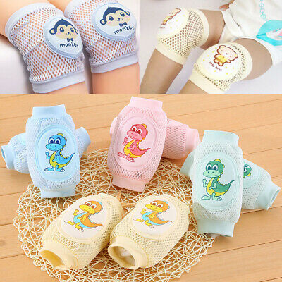 Newly Baby Kids Safety Crawling Elbow Cushion Infant Toddler Knee Pads Protector