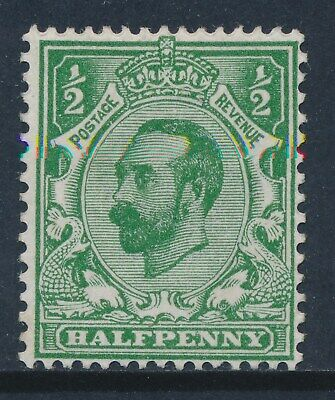 GB 1911 SG322 GREEN ½d MINT (MH/MM) Die 1A our ref GN5