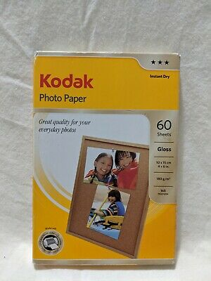 Kodak Photo Paper, 4 x 6 Inches, instant dry, Gloss, 100 Sheets