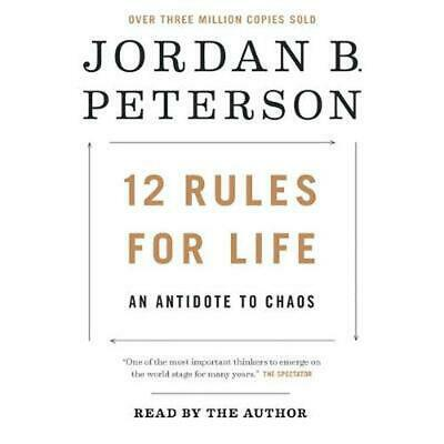 12 Rules for Life: An Antidote to Chaos by Jordan B. Peterson (English) Compact