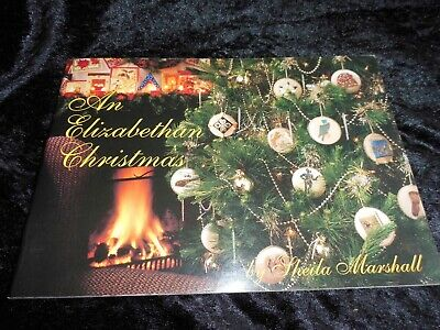 An Elizabethan Christmas Embroidery Pattern Collection By Sheila Marshall