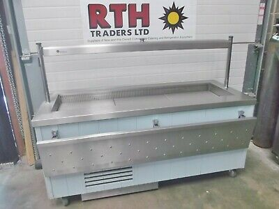 Servery Counter Refrigerated Display Buffet Carvery Fridge Chiller A ~ £450+V