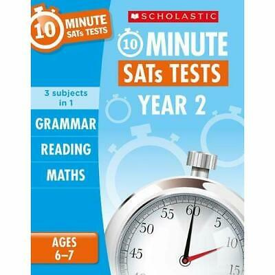 Grammar, Reading and Maths Year 2 (10 Minute SATs Tests - Paperback / softback N