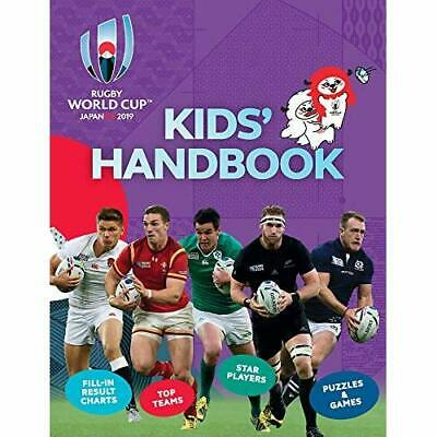 Rugby World Cup 2019 TM Kids' Handbook - Paperback / softback NEW Gifford, Clive