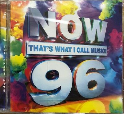 NOW THAT'S WHAT I CALL MUSIC ! 96 – V/A 2CDs Inc Little Mix Ed Sheeran (NEW)