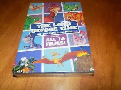 THE LAND BEFORE TIME COMPLETE COLLECTION 14 Films 8-Disc Animated DVD SET NEW