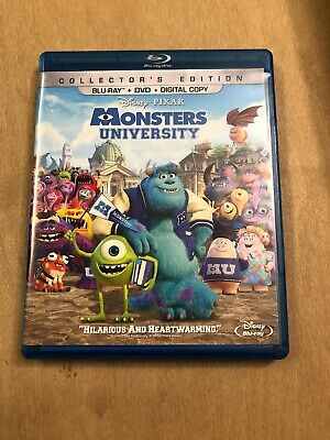 Monsters University Blu-Ray & DVD