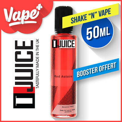 ★★ Red Astaire T-Juice 50 Ml [ Booster Offert ] T Juice ★★