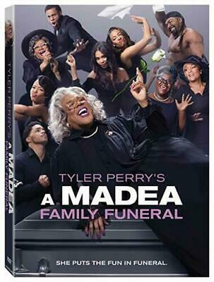 A Madea Family Funeral (New Sealed 2019 Dvd) Free Shipping Us Seller Ships Free