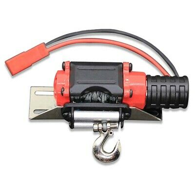 Electric Metal Winch with Wireless Remote Controller for 1/10 RC Crawler TRX4