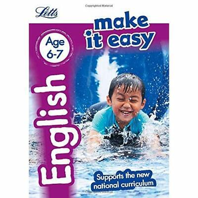 English Age 6-7: New Edition (Letts Make It Easy - New  - Paperback NEW Letts KS