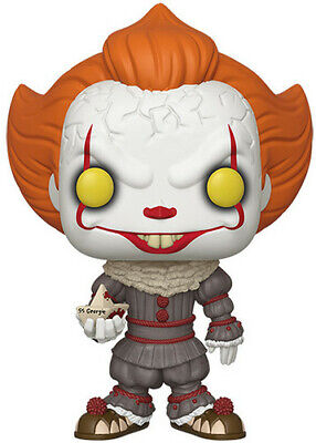 It: Chapter 2 - Pennywise W/ Boat - Funko Pop! Movies: (2019, Toy NEUF)