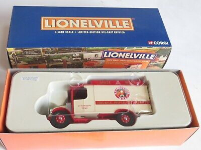 CORGI Diecast LIONELVILLE LIMITED ED MACK AC HOOD & SONS MILK DELIVERY Mint