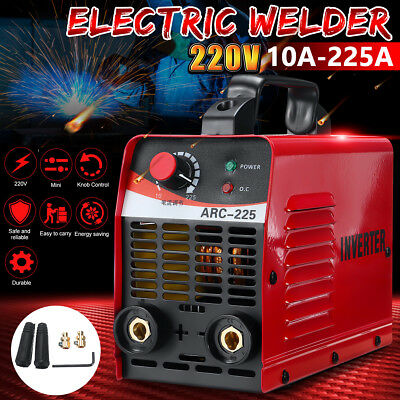 10A-225AMP Portable Welding Inverter Machine MMA ARC ARC-225 Welder IGBT